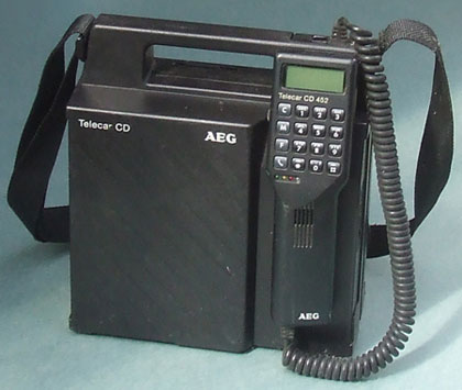 A Mobile Phone From the 1980s