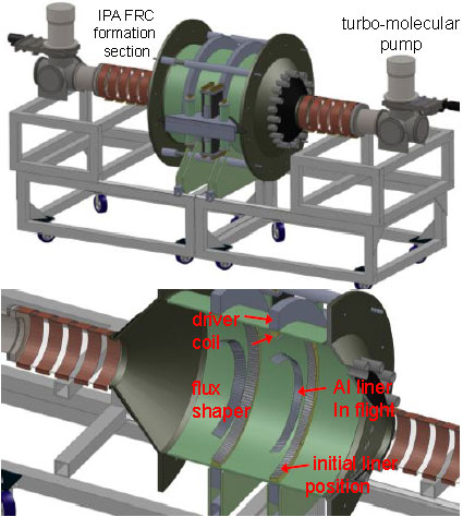 Cutaway Image of Fusion Rocket Design