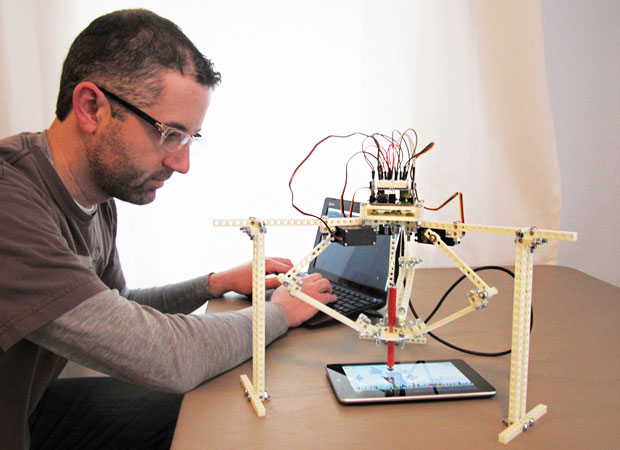 Sauce Labs Cofounder Jason Huggins and His <em>Angry Birds</em>-Playing Robot