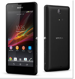The Sony Xperia ZR