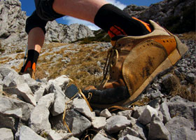 SolePower hiking boot