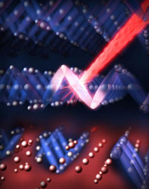 optical laser pulse