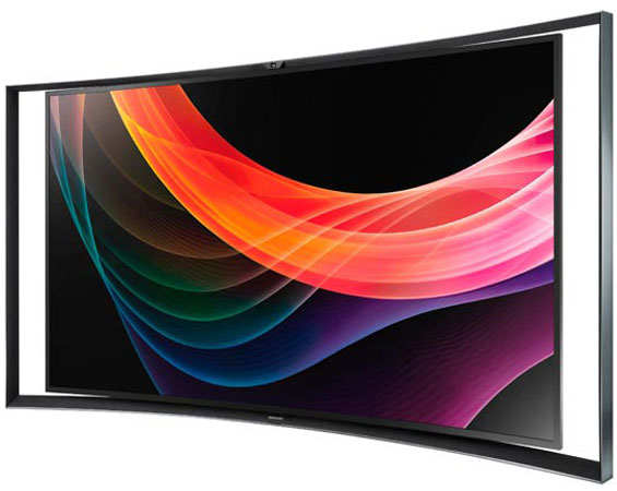 Samsung's Curved OLED TV