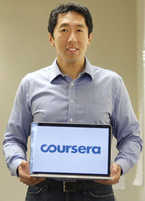 Andrew Ng, cofounder, Coursera