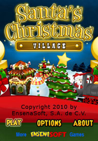 Santa's Christmas Village game