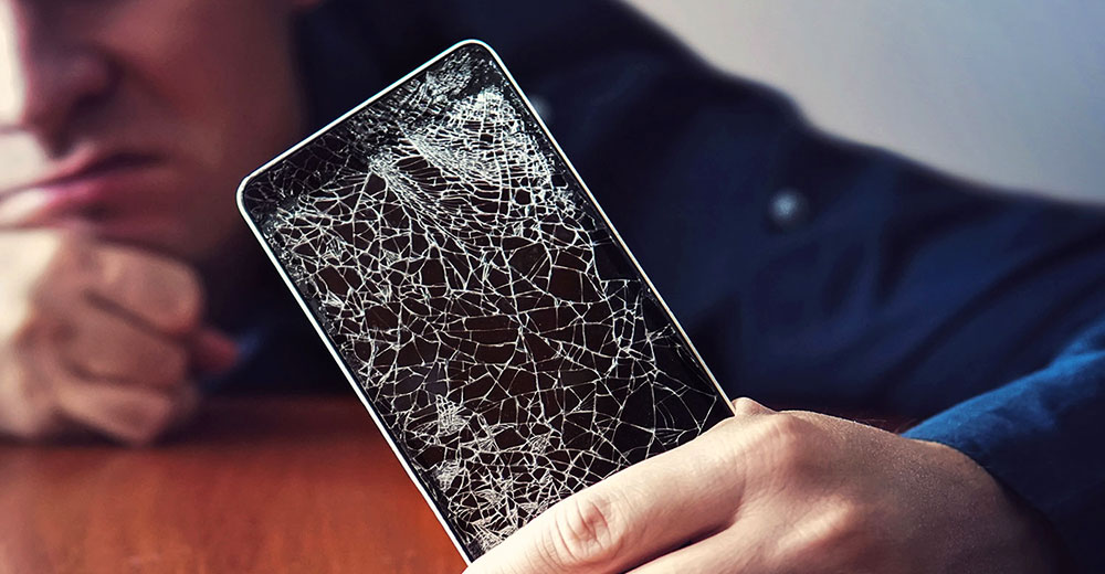 how to fix a broken or cracked screen on a smartphone or tablet