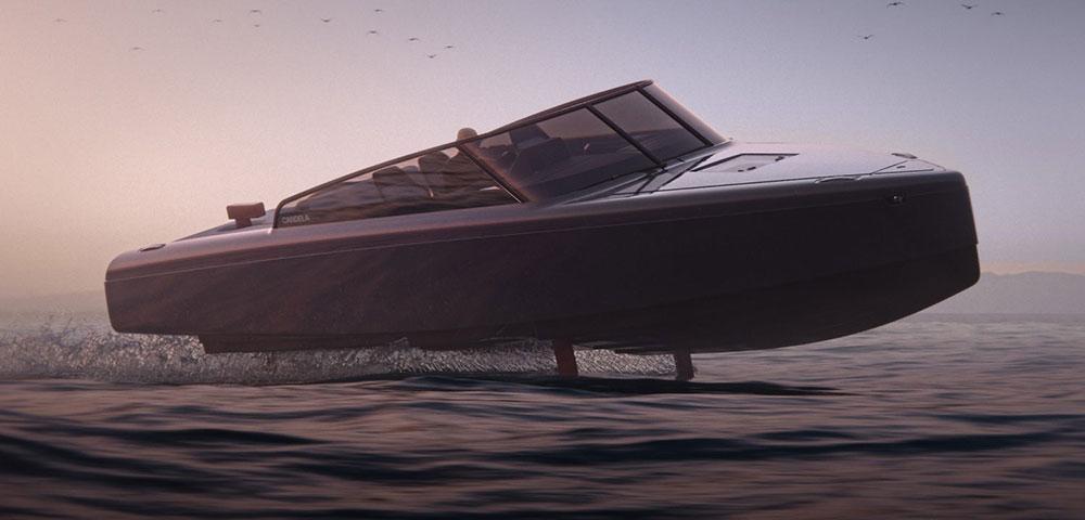 Candela C-8 electric boat