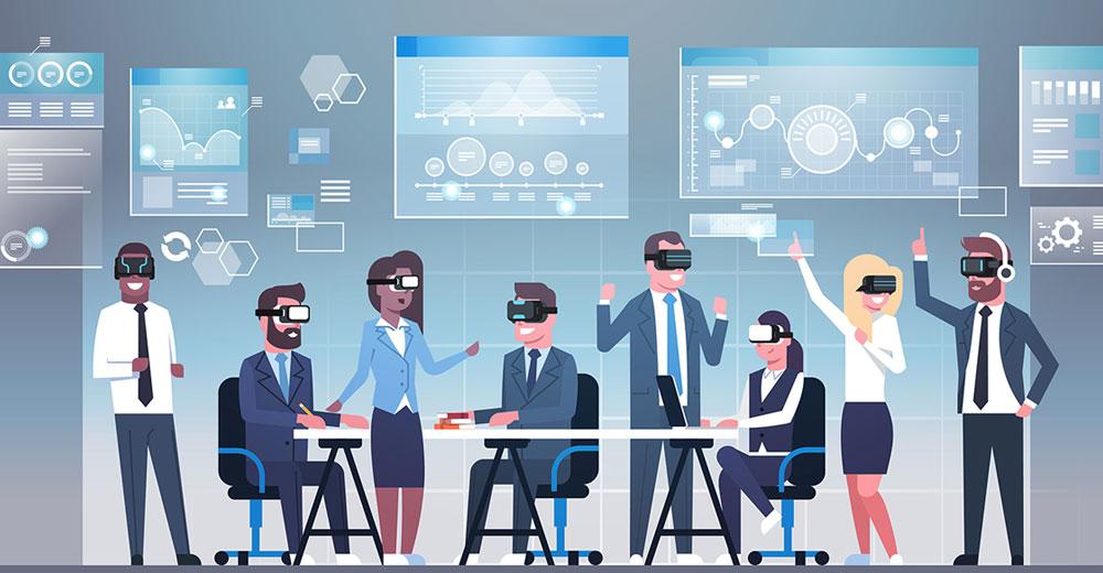 virtual reality business collaboration