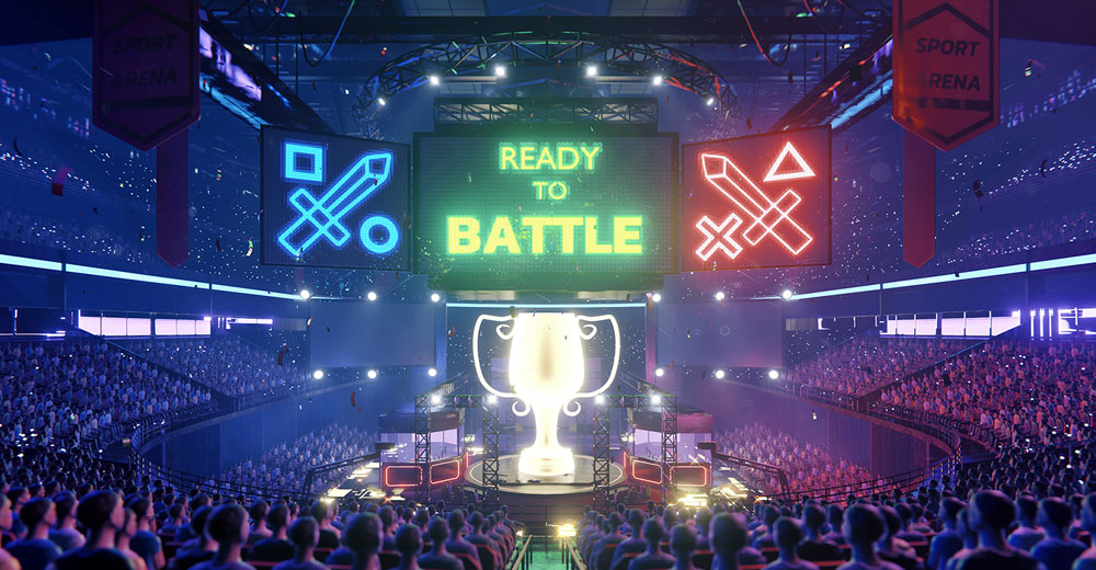 The Esports Evolution: Out of the Basement, Into Arenas